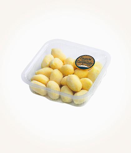 gnocchi di solo patate e acqua ripieni di gorgonzola take away pataro