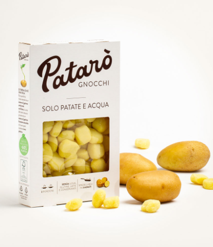 GNOCCHI ONLY POTATOES AND WATER